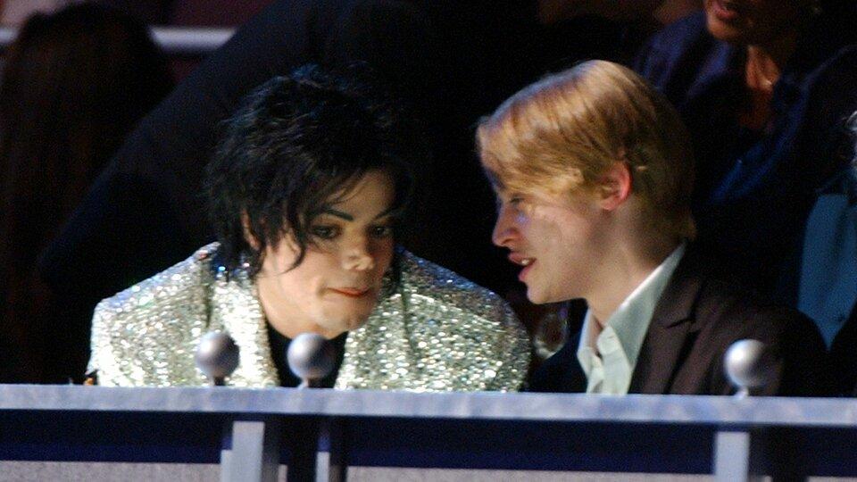 Маколей Калкин и Майкл Джексон / Фото: Getty Images