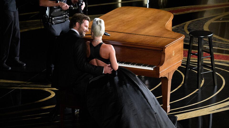 Леди Гага и Брэдли Купер / Фото: ©A.M.P.A.S.