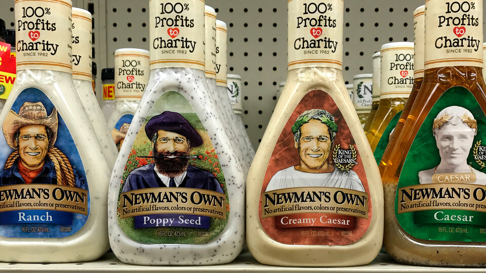 Соуc производства компании Newman's Own