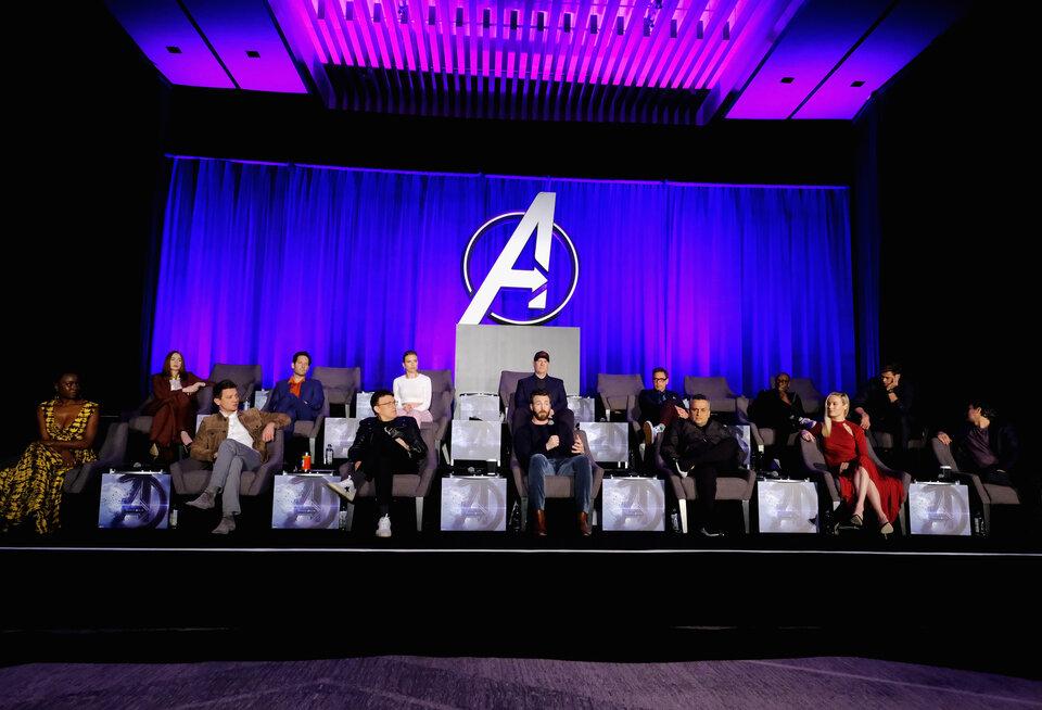Выжившие при щелчке Таноса / Фото: Getty Images for Marvel