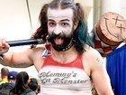 Бородатая Харли и семья Фетт: Косплей на Comic-Con