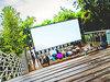 Как открыть летний кинотеатр