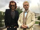 Дэвид Теннант и Майкл Шин предстали в образе героев «Благих знамений»