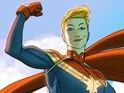 Первые кадры из «Капитана Марвел»: Бри Ларсон готова спасать мир