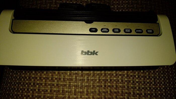 вакуумный упаковщик bbk bvs801 описание