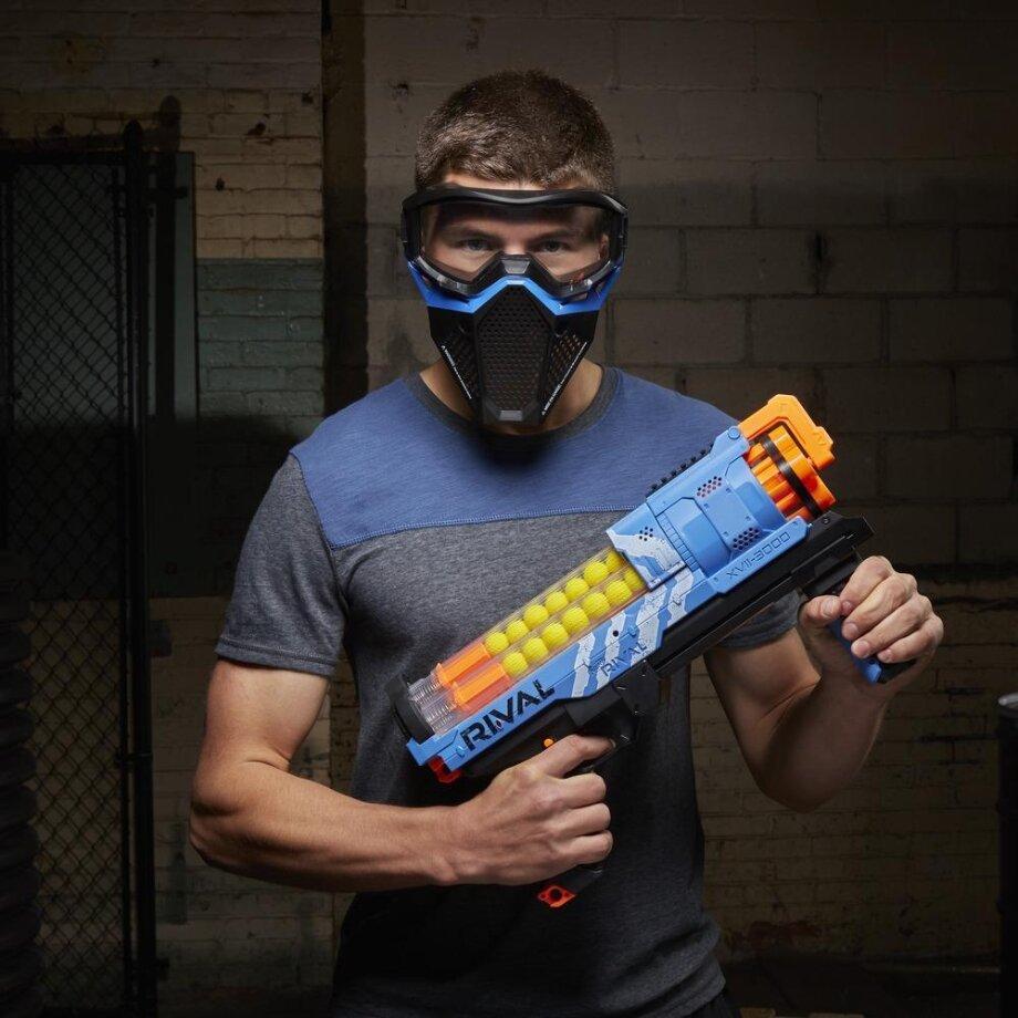Специальная маска защитит отпуль