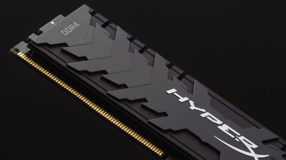 Так может выглядеть планка памяти современного стандарта DDR4