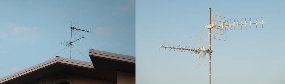 Для приёма цифрового сигнала вРоссии используют только ДМВ-антенны: так как вещание идёт именно надециметровых каналах, вдругих диапазонах нет необходимости