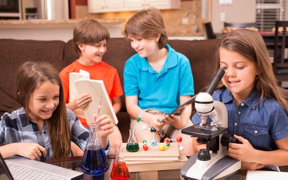 Картинки детей исследователей