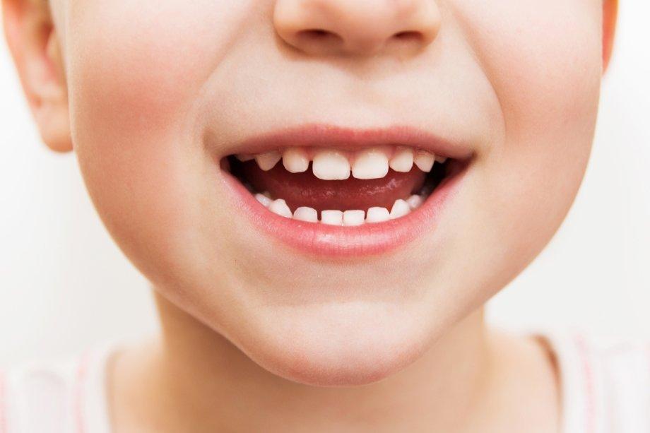 Молочные зубы картинках