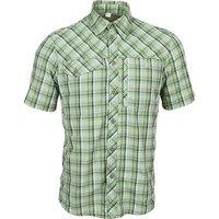 Рубашка в клетку Splav «Grid» короткий рукав, chocolate jazzy, размер: 42/182-188