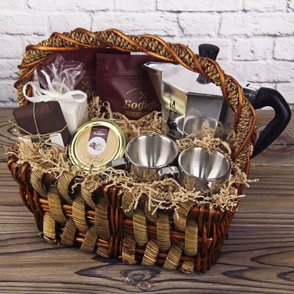 Букеты из чая и кофе для мужчин