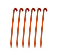 Колышки алюминиевые - U, набор. 6 шт., !2 цвета!: оранжевый или синий размер синий