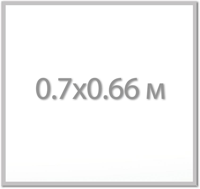 Магнитная доска 0.7х0.66 м.,  Стандарт  ИП Севостьянов Магнитная доска 0.7х0.66 м.,  Стандарт 