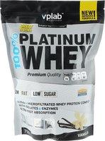 "Протеин Vplab ""100% Platinum Whey"", ваниль, 750 г"