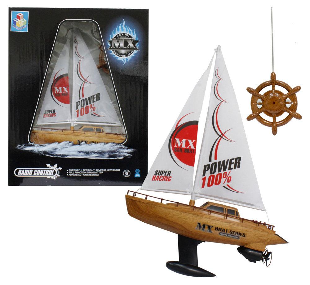 Лодка на радиоуправлении, парусная