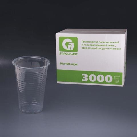 Одноразовые стаканы, 3000 штук