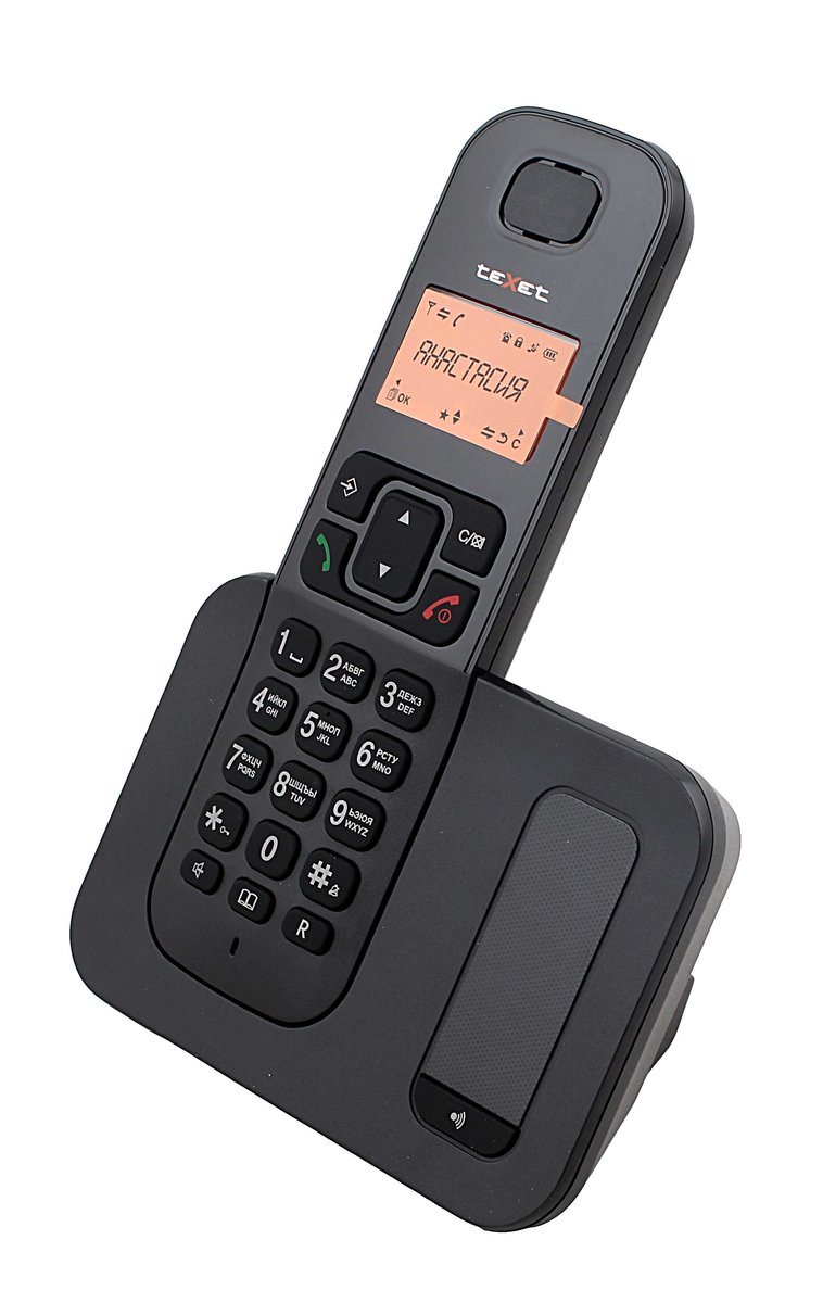 Радиотелефон Texet tx-d6605a черный