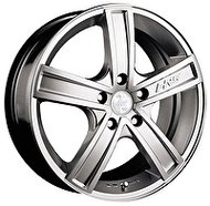 Racing Wheels H-412 7.5x18 5x110 ET 38 Dia 65.1 BK F/P - фото 1