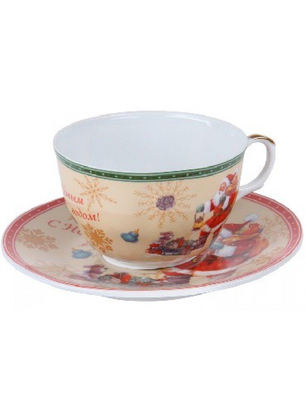 Посуда ROSENBERG RCE-255005-NY Чайная пара (12)