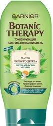 """Бальзам-ополаскиватель Garnier """"Botanic Therapy. Масло чайного дерева, цветки апельсина, алоэ вера"""", для нормальных и склонных к жирности волос, 200 мл"""