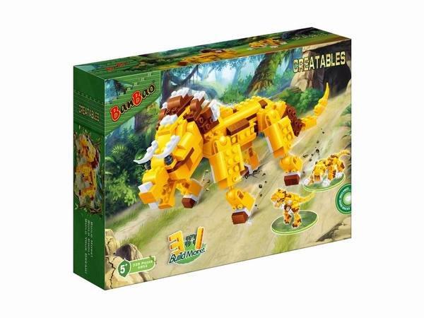 Динозавр: 3 в 1, 328 деталей конструктор Banbao 6852