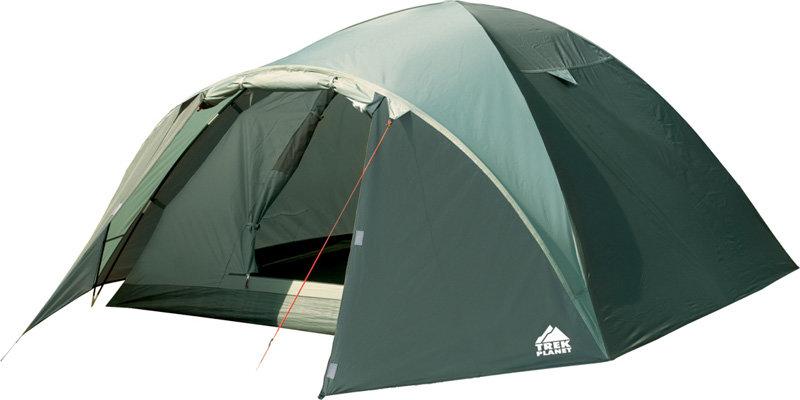 Палатка Trek Planet Denver Air 4 оливковый/т.оливковый