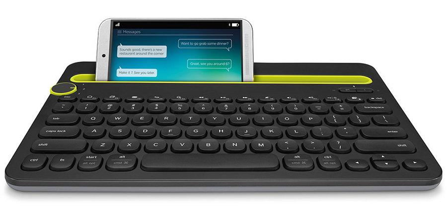 Клавиатура Logitech Multi-Device Keyboard K480 Bluetooth Black