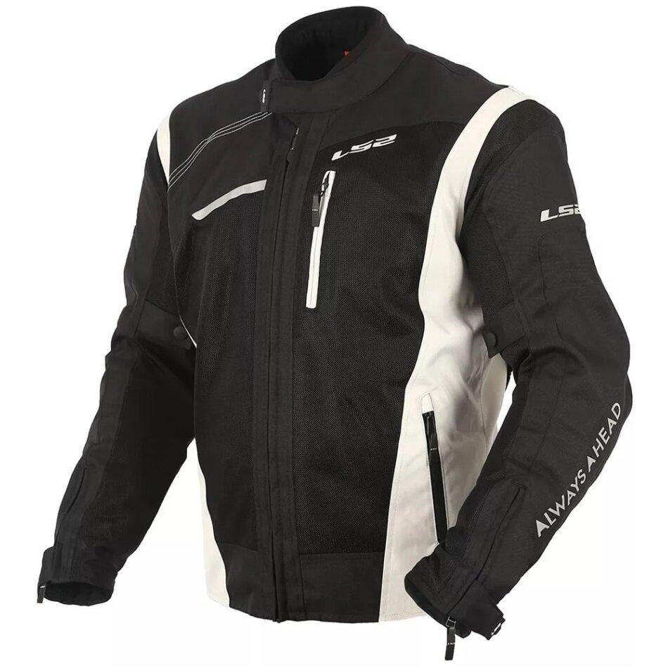 LS2 Мотокуртка DIANE MAN JACKET черно-светло-серый