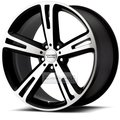 Диск American Racing AR885 10x20 5*112 ET38 d72.6 Black/Machined - фото 1