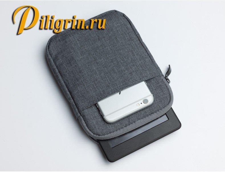 Чехол карман 6 дюймов вертикальный для электронных книг PocketBook, Amazon, Sony