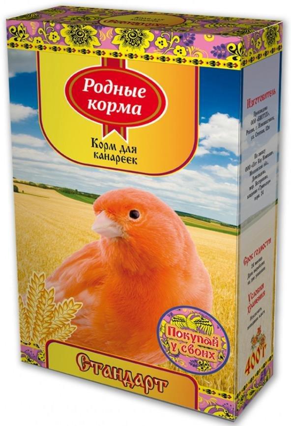 "Корм для канареек Родные корма ""Стандарт"", 400 г"