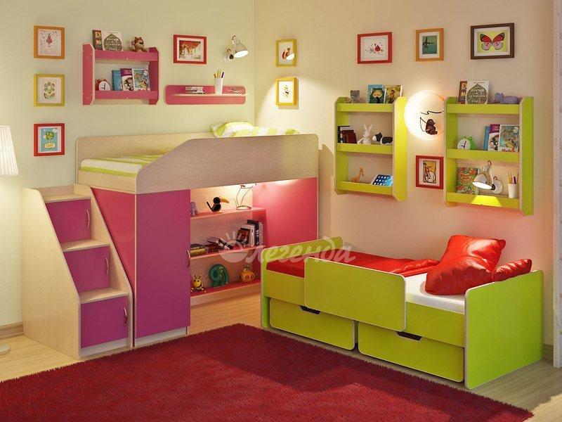 Детская комната Легенда 13 80х180 см