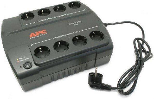 Источник бесперебойного питания APC Back-UPS ES 700VA 405W BE700G-RS