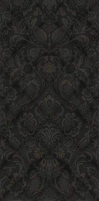 Керамическая плитка Даниэли Плитка настенная черный структура обрезной 11108R 30х60
