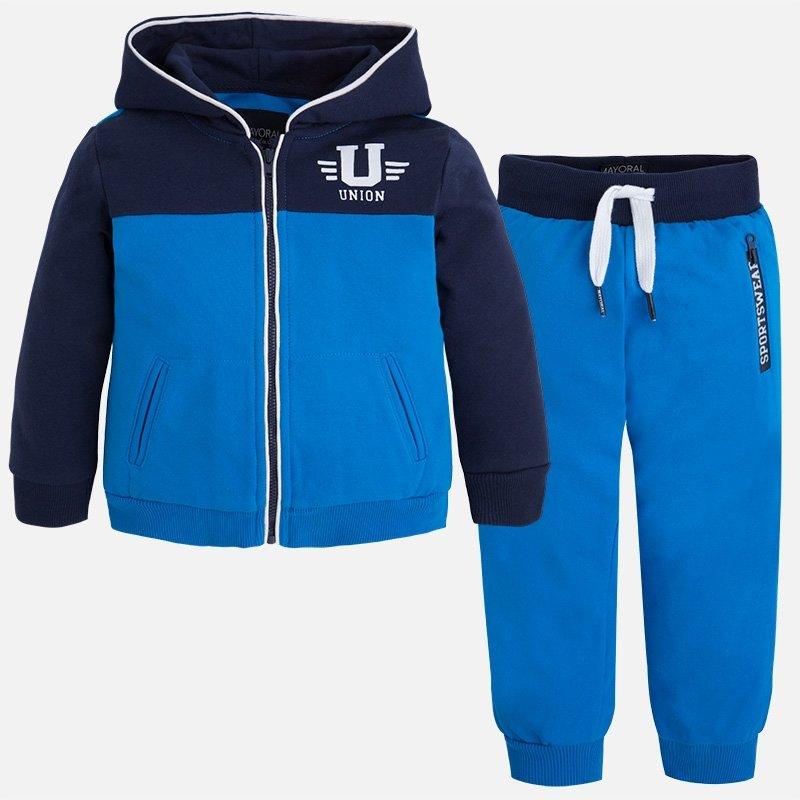 Спортивный костюм MAYORAL 3801/46 для мальчика, цвет синий, размер 8 лет 128 см