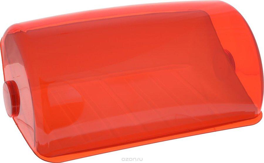 """Хлебница """"Giaretti"""", цвет: красный, 39,5 х 25 х 17,7 см"""