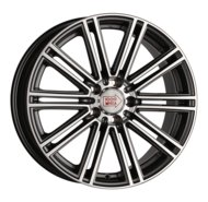 Диски R19 5x112 8,5J ET45 D66,6 1000 Miglia MM1005 Dark Anthracite Polished - фото 1