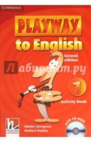 "Gerngross Gunter, Puchta Herbert ""Playway to English 1. Activity Book (+CD)"""