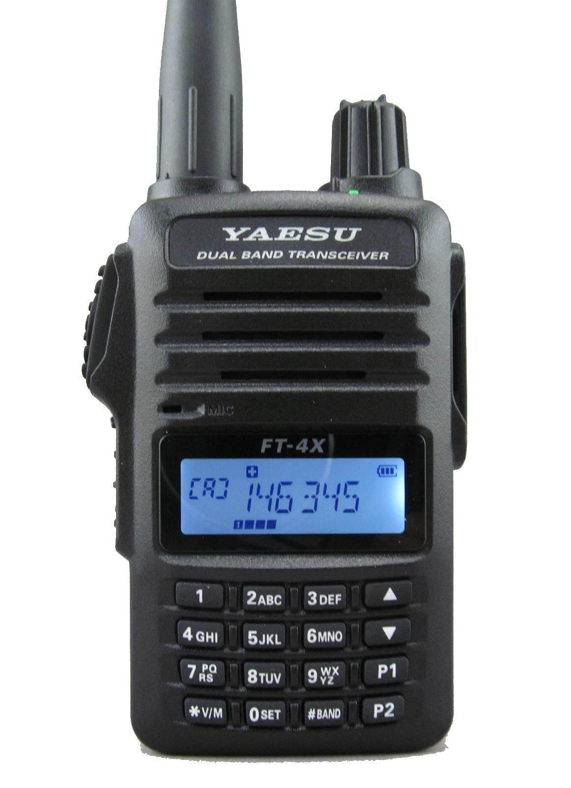 Портативная радиостанция Yaesu ft-4xr 1750 мАч