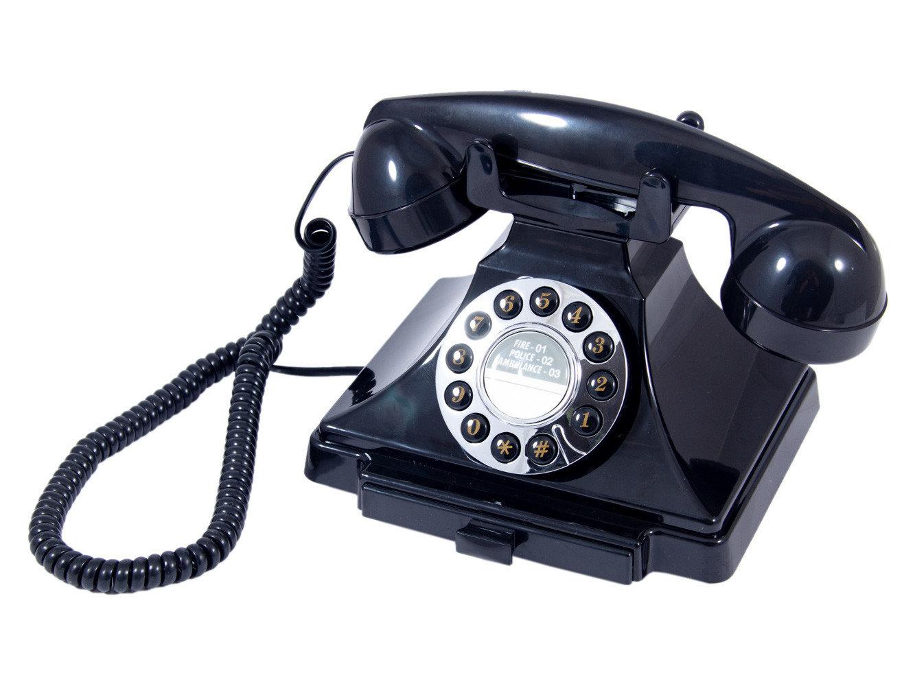 Телефон-ретро, 23x12x19 см, арт. 98912