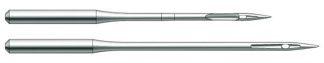 Швейная игла Groz-Beckert TQX7 FFG (SES) №110 для пуговичных машин