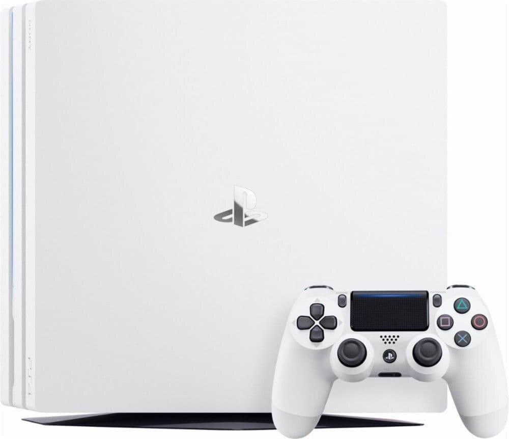 Sony PlayStation 4 Pro (1TB) (CUH-7216B) Glacier White
