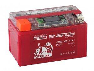 Аккумулятор для мототехники Red Energy DS 12-10.1 200А прямая полярность 10 Ач (150x87x93)