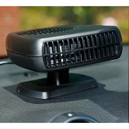 Обогреватель для авто на лобовое стекло от прикуривателя + вентилятор 12В, 150ВТ