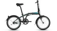 """Велосипед Forward Omega 2.0 (зеленый. 20"""", 6 ск) суперскладной, алюминиевая рама"""