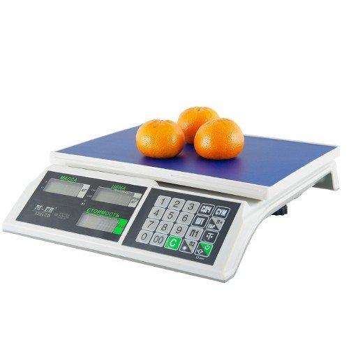 Весы торговые M-ER 326AC-15.2 LCD Slim с АКБ (без стойки)