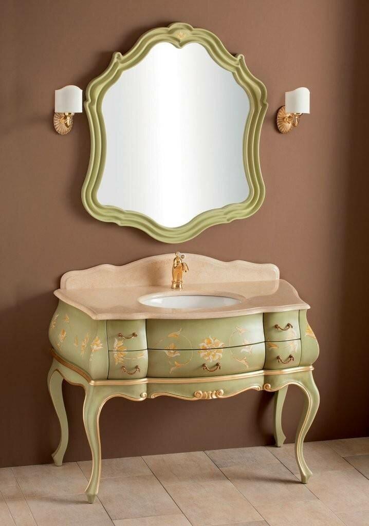 Мебель для ванной Cezares Topazio (TO02.04C) светло зеленый