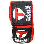 Takeshi Fightgear Бинты боксерские 4м Takeshi FG красные