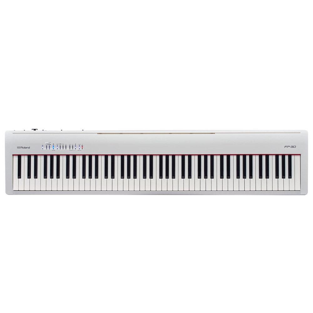 Цифровое пианино Roland FP-30-WH белое